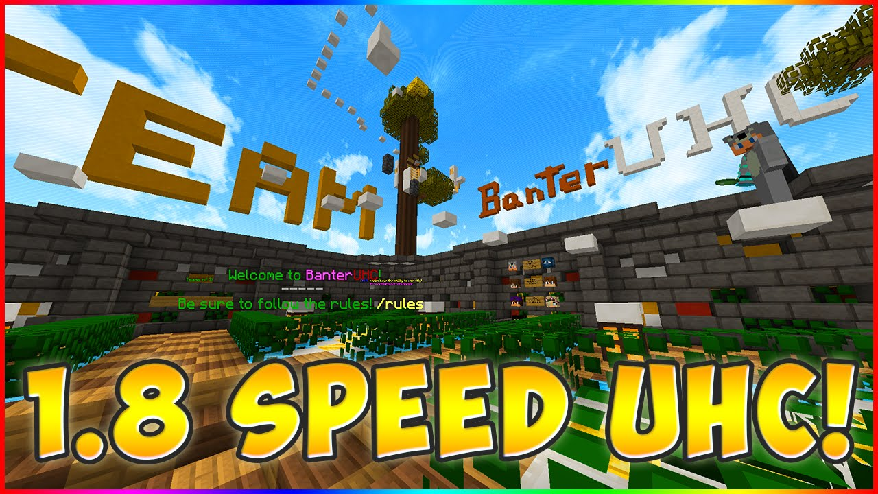BANTER UHC SERVER LAUNCHED!! (SPEED UHC NA) IP BELOW