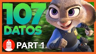 107 Datos Que DEBES Saber Sobre Zootopia (Parte 1) - ÁtomoNetwork