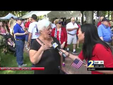 Roswell hosts largest annual Memorial Day event in Georgia