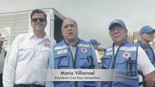 Ingresa a Venezuela primer envío de ayuda humanitaria de la Cruz Roja