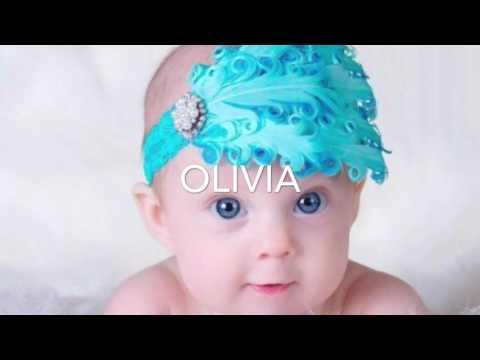 Popular baby girl names 2016