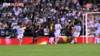 Barcelona 1 2 Real Madrid Chung ket cup Nha vua Tay Ban Nha