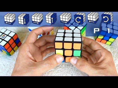 Como Armar Un Cubo Rubik 3x3 | PRINCIPIANTES | Parte 1 De 3