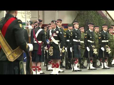Calgary Highlanders Receive Canadian Forces Unit Commendation