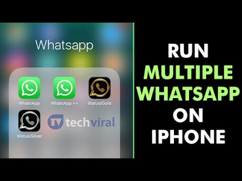 How to install 2 whatsapp in iphone without jailbreak easy way ||||||  latest july 2018