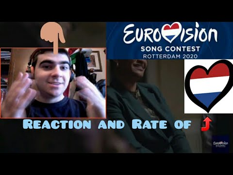 "EUROVISION 2020 | The Netherlands - Jeangu Macrooy ""Grow"" (Reaction and Rate)"