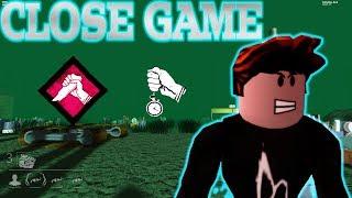 Dead By Roblox | Close Survivor Game!
