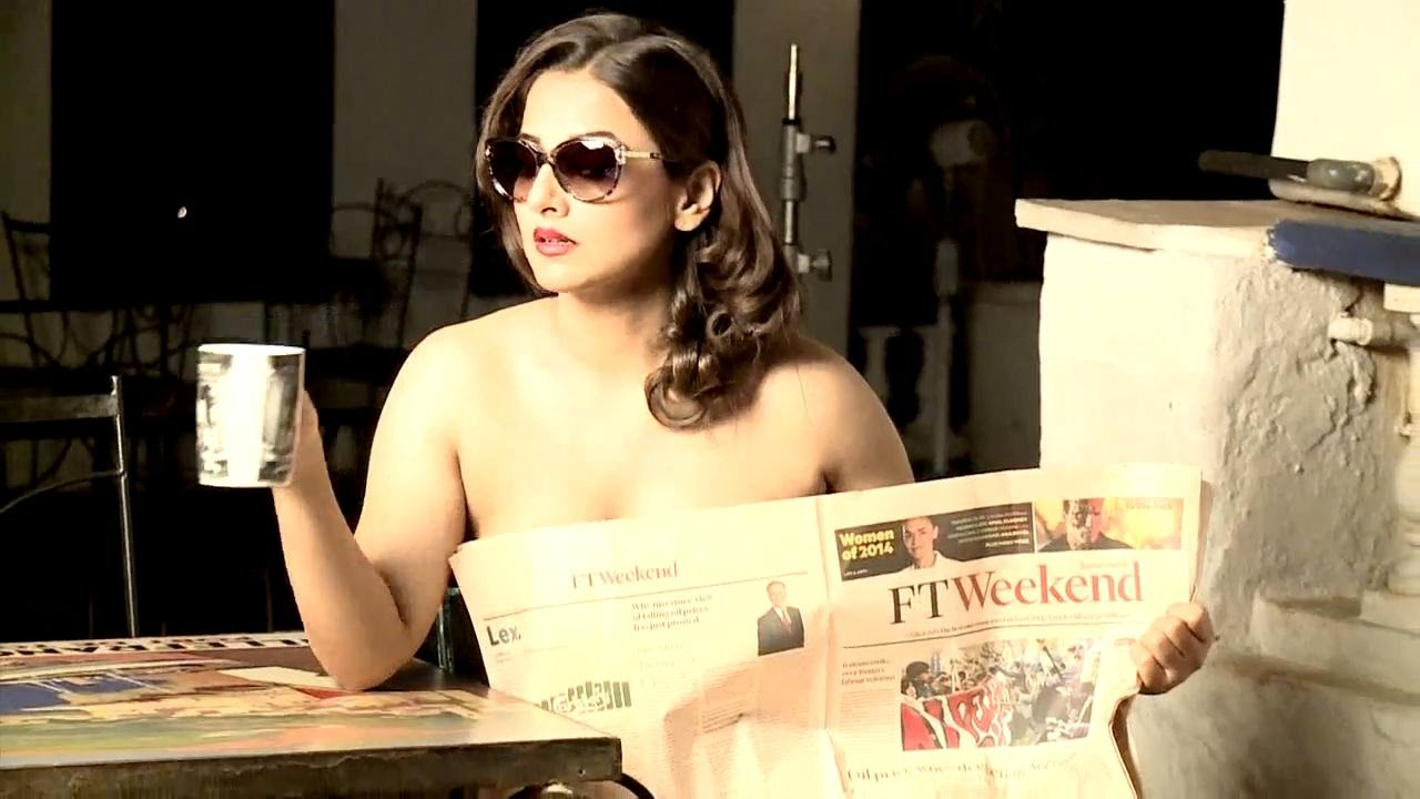topless Vidya balan