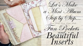Fun Pockets & Beautiful Inserts Interactive Elements for BEGINNERS!!