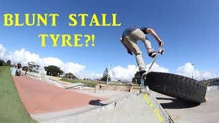 SKATING A TYRE?