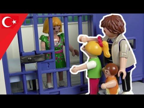 Playmobil Türkçe Müzede Hırsızlık - Hauser Ailesi - Polis Komiser Ali
