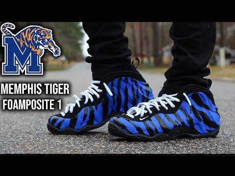 Nike Foamposite One Memphis Tiger