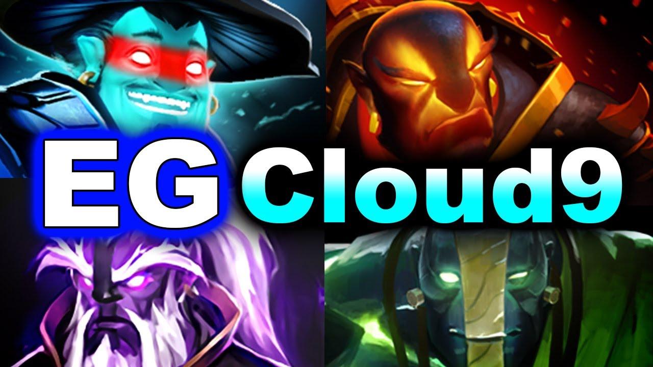 EG vs Cloud 9 - 4 SPIRITS - BTS PRO Series DOTA 2 thumbnail