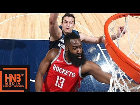 Houston Rockets vs Minnesota Timberwolves Full Game Highlights / March 18 / 2017-18 NBA Season