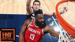 connectYoutube - Houston Rockets vs Minnesota Timberwolves Full Game Highlights / March 18 / 2017-18 NBA Season