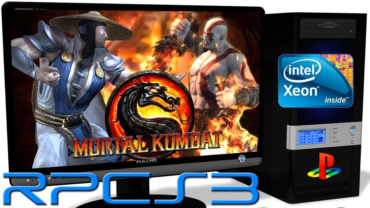 RPCS3 0 0 5 [PS3] - Mortal Kombat 9 [Gameplay] New RSX  Async Shaders   Vulkan api #1