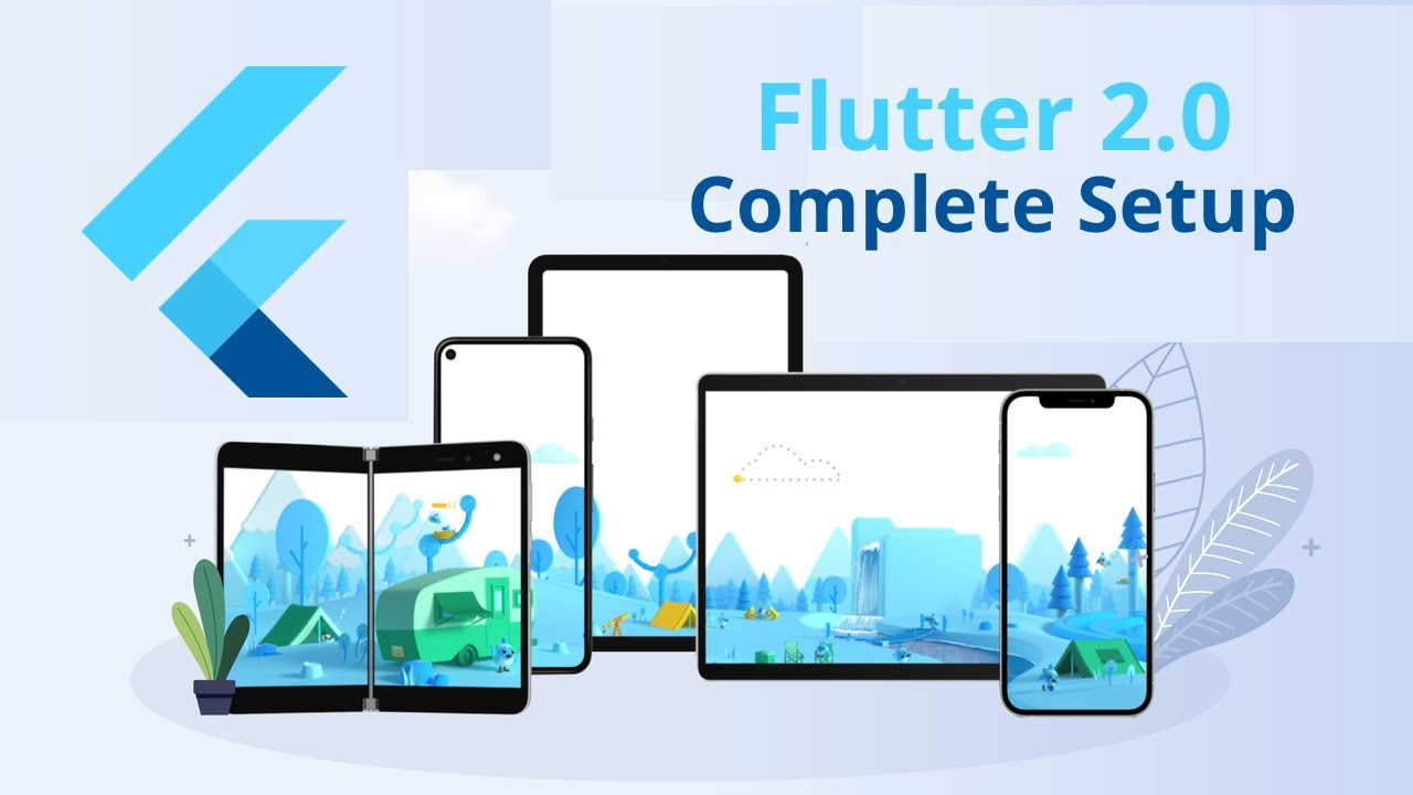 Download & Install & Setup Flutter 2.0 on Windows - Full Stack Flutter 2.0 Web, Android & iOS Course
