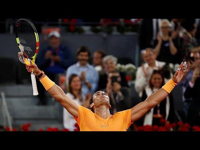 Rafa Nadal sets new world record