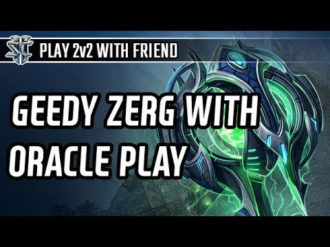 Greedy Zerg with Oracle play with Korean Progamer Ryung
