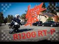 BMW r1200 rt motorcycle police edition nimble maneuverability slow riding exercise k52 r1200rt lc