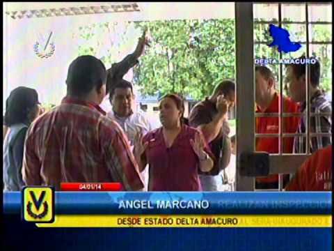 En Delta Amacuro realizan inspección de nuevo centro de salud