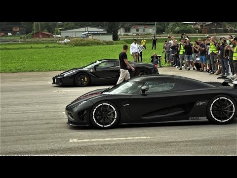 Top 10 Super Cars Drag Race of ALL Time | Drag Race of supercars