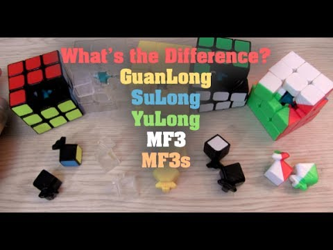 Difference between GuanLong, YuLong, SuLong, MF3, & MF3s