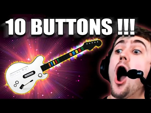 I BOUGHT A GUITAR HERO GUITAR WITH 10 BUTTONS!!! DOES IT WORK?
