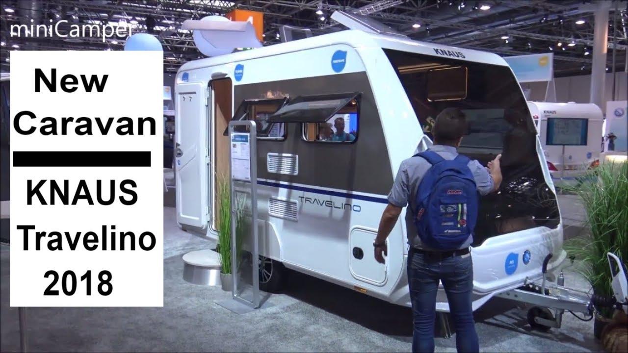 the new knaus 2018 caravan travelino 400 ql youtube. Black Bedroom Furniture Sets. Home Design Ideas