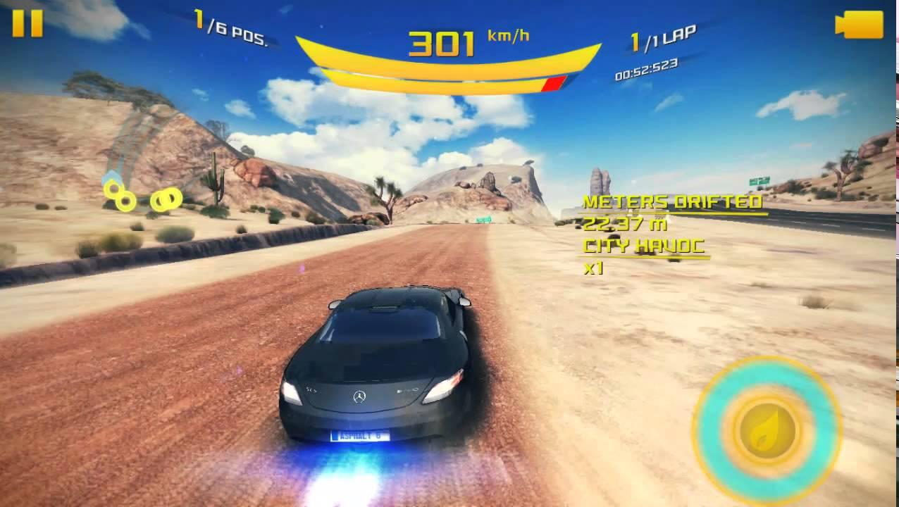 Mercedes-Benz SLS AMG Electric Drive - Asphalt 8 Airborne - Gameplay -  Season 9