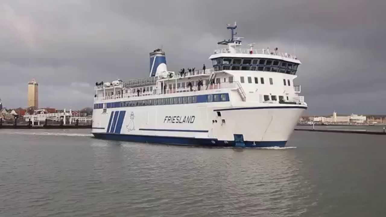 ms Friesland ( Rederij Doeksen) - YouTube