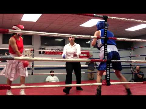 Black Eye Boxing Club Cher Obediah Stockyards Fight Oct 2013