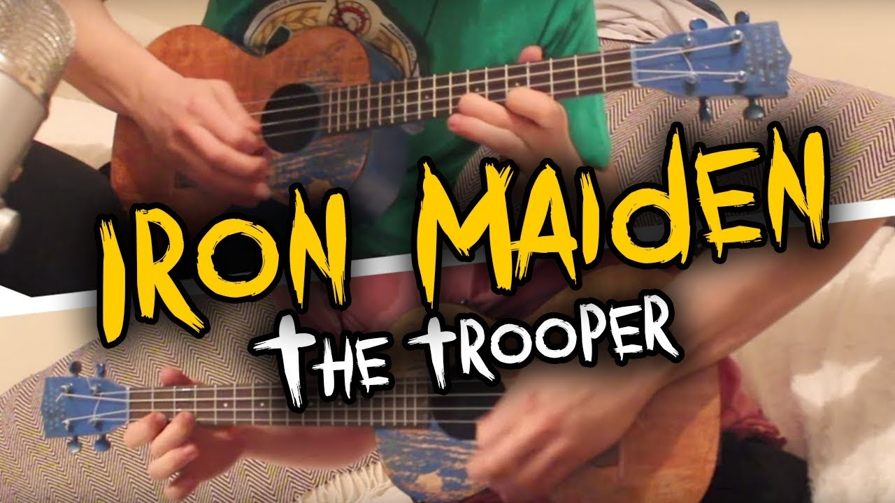 Iron Maiden The Trooper Ukulele Cover Wsolo Tabs Youtube