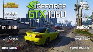 NVIDIA GTX 1060 + Ryzen 3 1300x Test in 10 Games