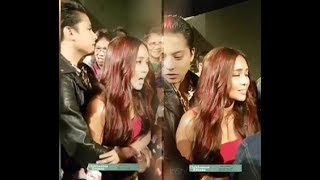 Daniel Padilla OVERPROTECTIVE to Kathryn during the La Luna Sangre Grand Presscon