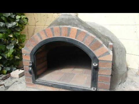 Construcci n de horno de le a 6 youtube - Construccion hornos de lena ...