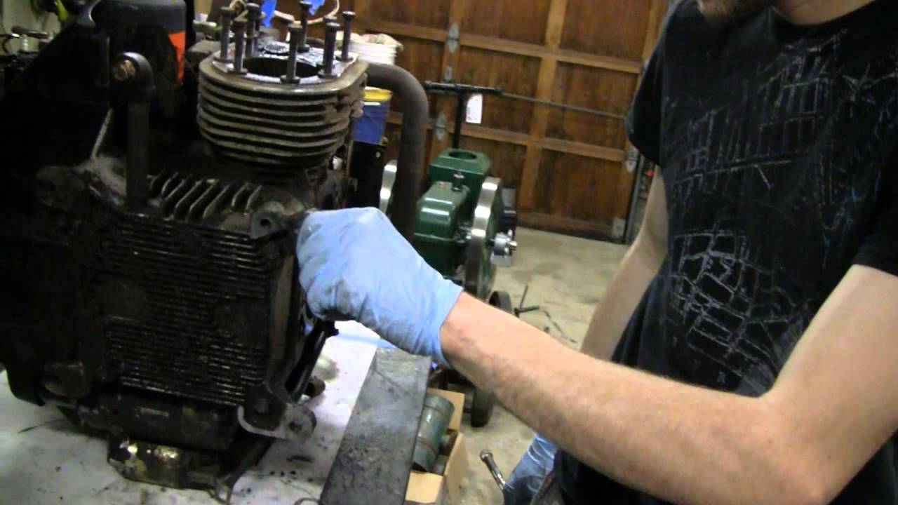 ONAN ENGINE TEARDOWN on