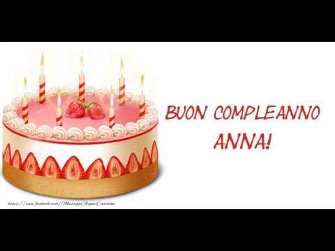 Tanti Auguri Di Buon Compleanno Anna