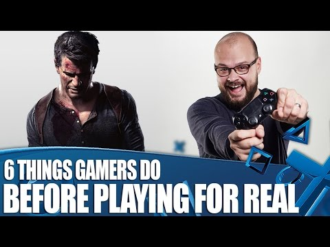 6 Stupid Things Gamers Always Do Before Playing For Real