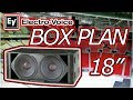 [PLAN] Electro Voice Xsub Dual 18 Inch Subwoofer Element Plan look alike