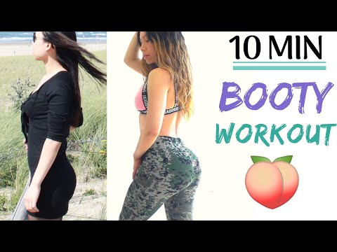 Exercises For Wider Hips, Rounder Butt & Toned Thighs - BKB #2