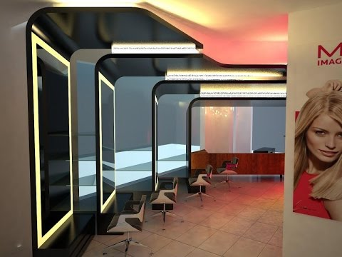 Interior Design Ideas Hair Salon - YouTube