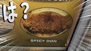 シンガポールの謎和食食ってみた【スパイシー丼(意味不明)】【KUN】
