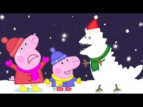 Peppa Pig Full Episodes Christmas Special Snow  Kids Videos
