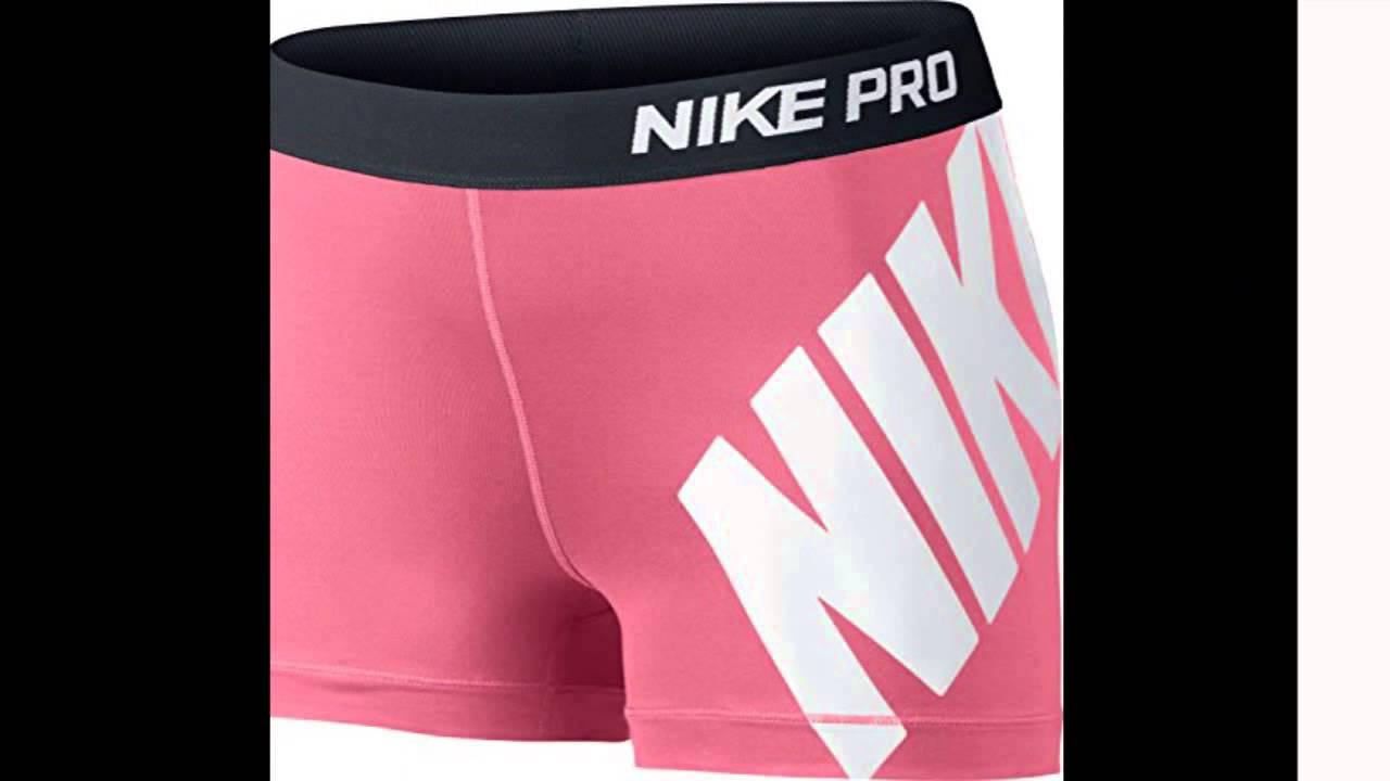 987c272d3d4 Nike Womens Dri Fit Pro 3 Core Compression Training Shorts Coral Small