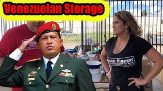 We bought a Storage Unit from SOCIALIST VENEZULA Wars Casey Nezhoda