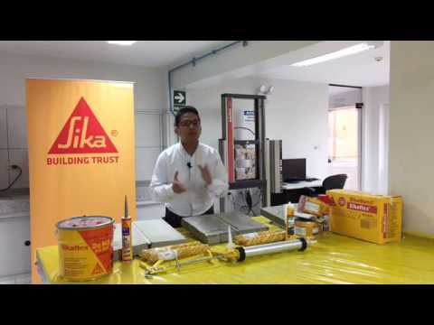 Sika per presentaci n de l nea de productos youtube for Productos sika para piscinas