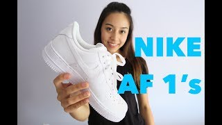 NIKE Air Force 1 Unboxing + Review