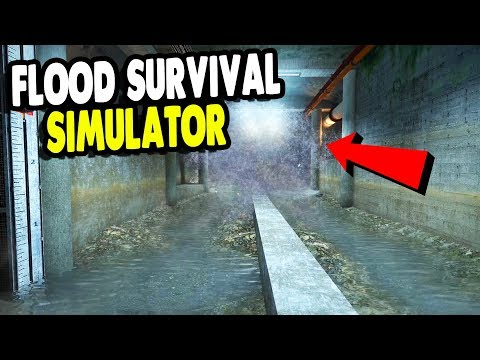 BEST GAME Surviving HUGE FLOOD In Underground Factory | INFRA Gameplay