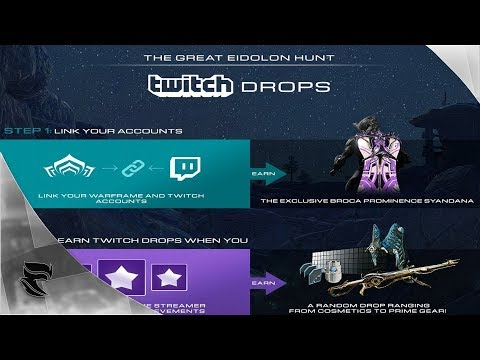 Warframe: How to link Your Warframe Account to Your Twitch Account for POE